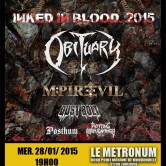 OBITUARY + M-PIRE OF EVIL + DUST BOLT + ROTTING REPUGNANCY @u Metronum