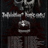 INQUISITION + ROTTING CHRIST + MYSTIFIER + SCHAMMASCH @u Metronum