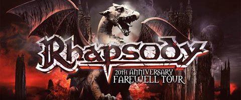 Réunion de RHAPSODY (Power Metal Sympho) et tournée en 2017
