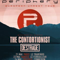 PERIPHERY + THE CONTORTIONIST + DESTRAGE @u Connexion Live