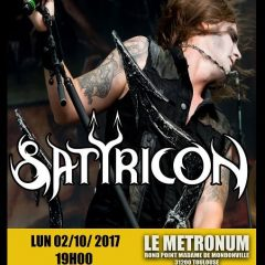 SATYRICON + SUICIDALS ANGELS + FIGHT THE FIGHT @u Metronum
