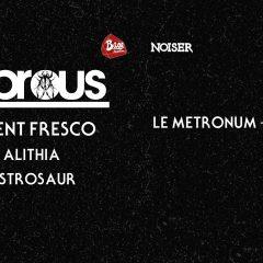 LEPROUS + AGENT FRESCO + ALITHIA + ASTROSAUR @u Metronum