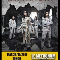 LACUNA COIL + GUEST @u Metronum