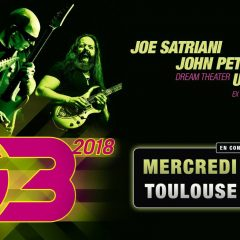 G3 : JOE SATRIANI + JOHN PETRUCCI + ULI JON ROTH @u Zénith