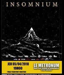 INSOMNIUM + TRIBULATION + INLANDSYS @u Metronum