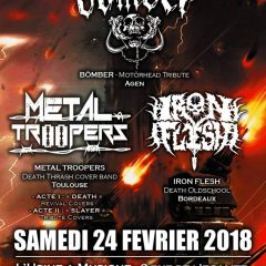 BOMBER + METAL TROOPERS + IRON FLESH @ L'Usine A Musique