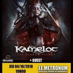KAMELOT + LEAVE'S EYES @u Metronum