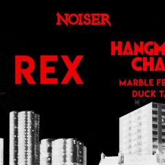 HANGMAN'S CHAIR + MARBLE FEATHER + DUCK TAPE @u Rex