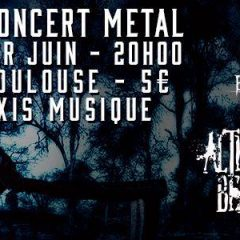 BLINDERD + ALTERED BEAST + SECRET FAITH @ Axis Music