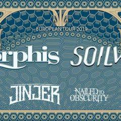 AMORPHIS + SOILWORK + JINJER + NAILED TO OBSCURITY @u Bikini