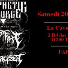 PROPHETIC SCOURGE + TEMPT FATE + EXORCISER @ La Cave A Rock