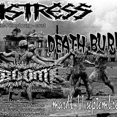 DISTRESS + DEATH BURING + BOOM @ux Pavillons Sauvages