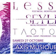 LESSEN + SEYLEN + TAOTOPIA @ Axis Music