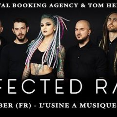 INFECTED RAIN + ANKOR + FROM DUSK TO DAWN @ L'Usine A Musique