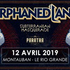 ORPHANED LAND + SUBTERRANEAN MASQUERADE + PARATRA @u Rio Grande (Montauban)