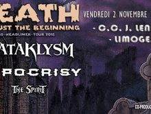 KATAKLYSM + HYPOCRISY + THE SPIRIT @u CC John Lennon à Limoges – Live Report by Reaper