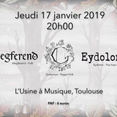 WEGFEREND + GOFANNON + EYDOLON @ L'Usine A Musique