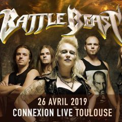 BATTLE BEAST + ARION @u Connexion Live