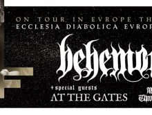 BEHEMOTH + AT THE GATES + WOLVES IN THE THRONE ROOM @u Bikini : Le Live Report