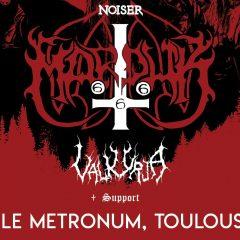 MARDUK + VALKYRJA + GUEST @u Metronum
