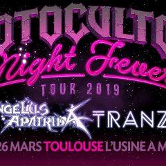 MOTOCULTOR NIGHT FEVER : ANGELUS APATRIDA + TRANZAT @ L'Usine A Musique