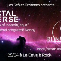 FRACTAL UNIVERSE + BLINDHERD @ La Cave A Rock