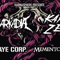 IN ARKADIA + KARMA ZERO + KOBAYE KORP + MEMEMTO MORI @ L'Usine A Musique
