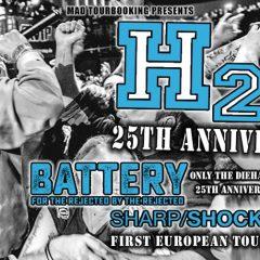 H2O / BATTERY / SHARP SHOCK @ l'Usine à Musique
