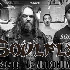 SOULFLY + PSYKUP @u Metronum
