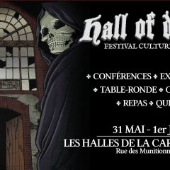 HALL OF DEATH @ux HALLES DE LA CARTOUCHERIE